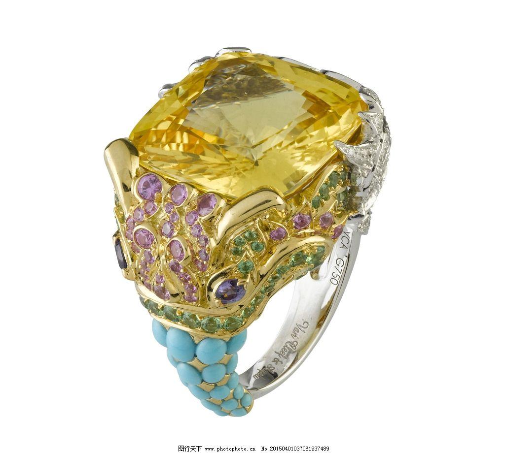 宝石戒指图片