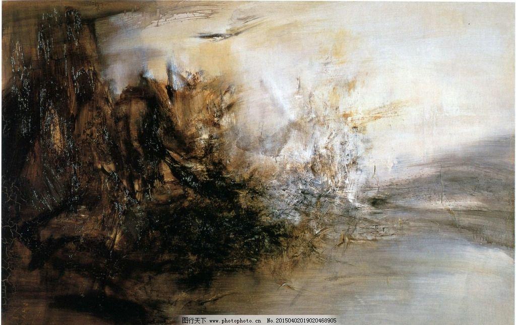 壁画图片,现代 抽象 艺术-图行天下图库图片