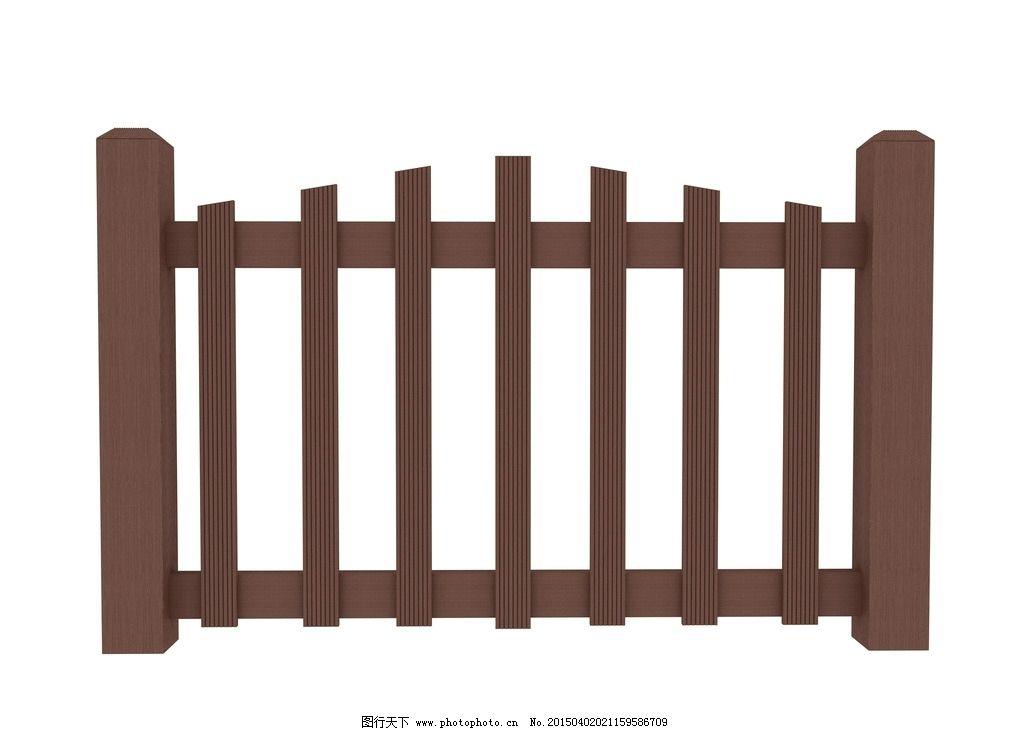 防腐木栏杆效果图图片
