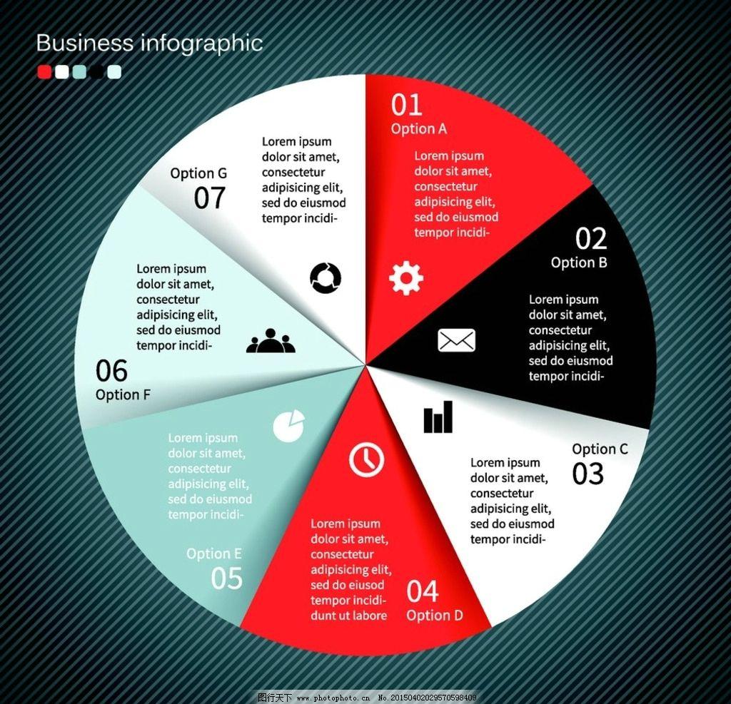 信息分类图表图片_设计案例_广告设计_图行天下图库图片