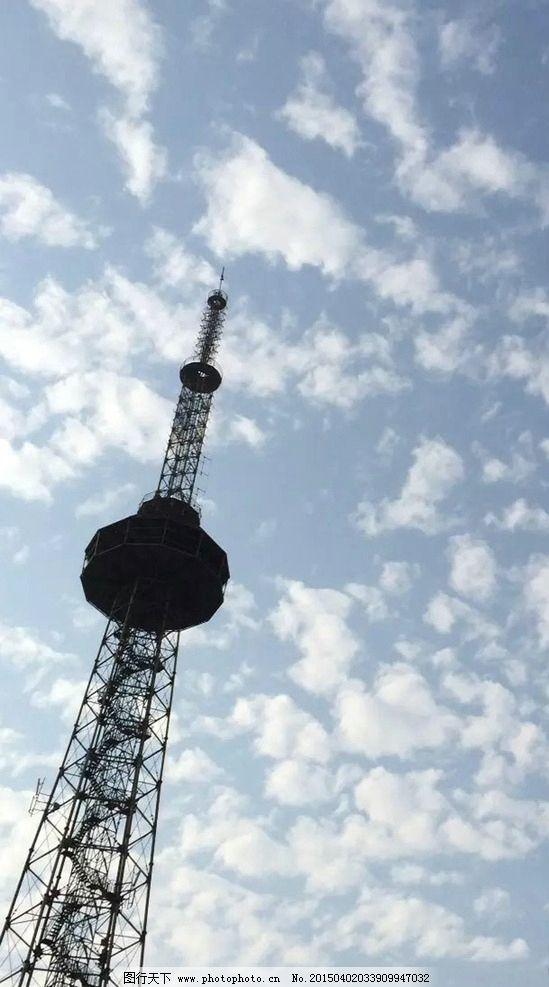 宁波麦德龙信号塔建筑图片