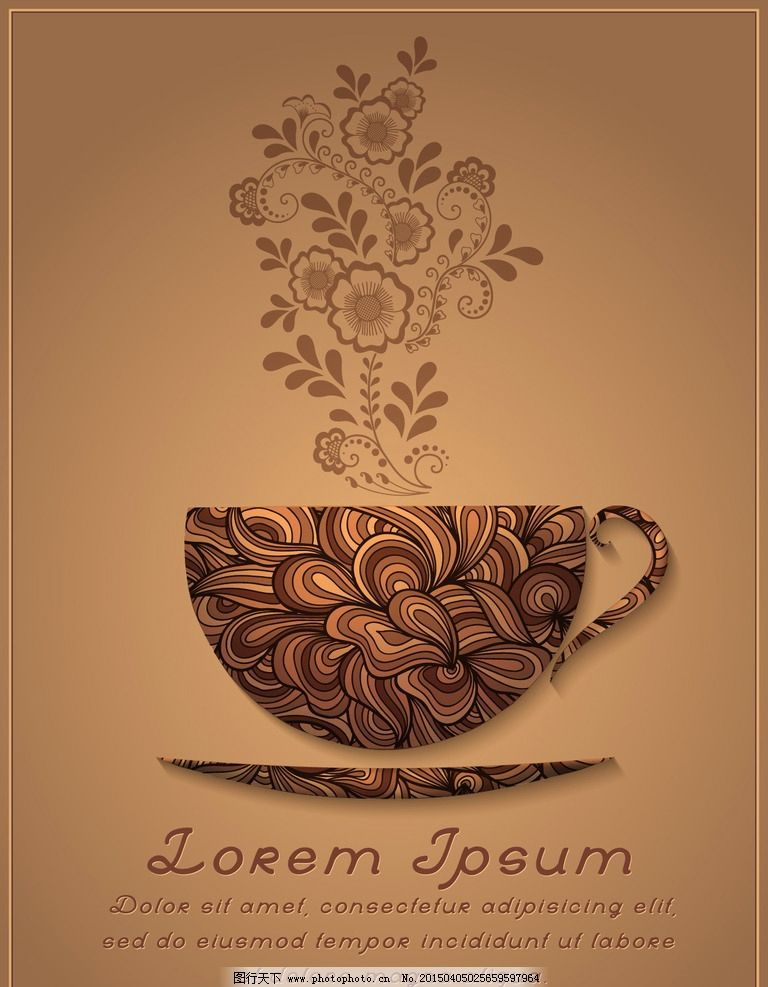 咖啡 手绘 咖啡厅 饮料酒水 咖啡豆 餐饮美食 设计 矢量 eps 设计