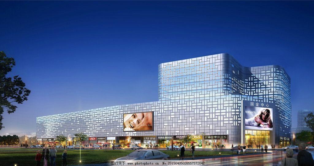 室外设计 景观设计 环境设计 装饰素材 3d效果图 花草树 背景天空
