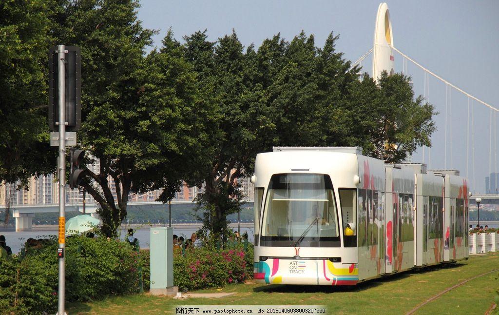 广州有轨电车 旅游摄影