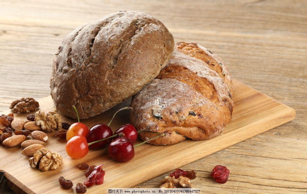 欧式面包图片_西餐美食图片