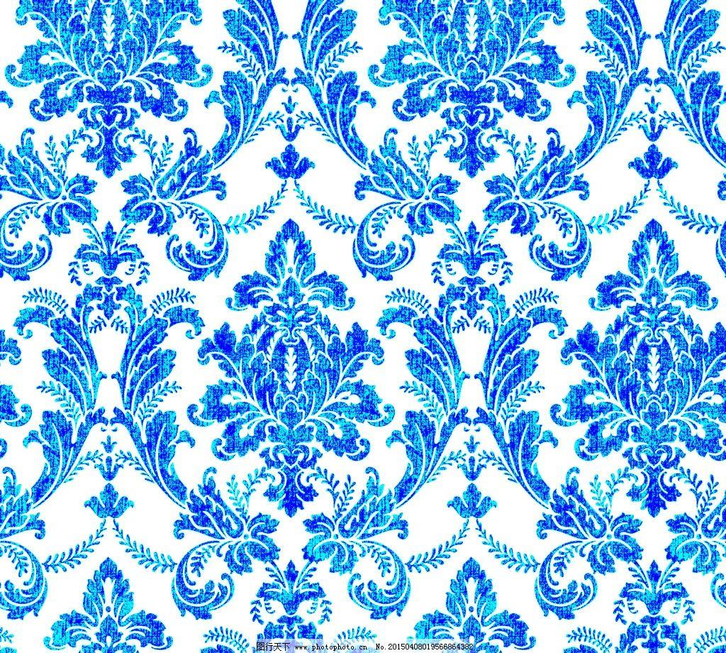 欧式 团花 大马士革 墙纸 花型 设计 文化艺术 其他 254dpi psd图片