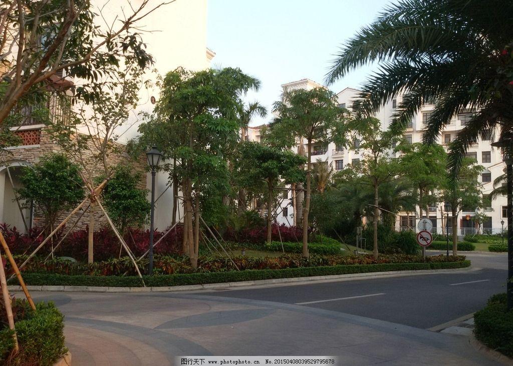 小区景观 景观设计 小区环境 住宅楼 园林景观 园林建筑集锦 摄影图片