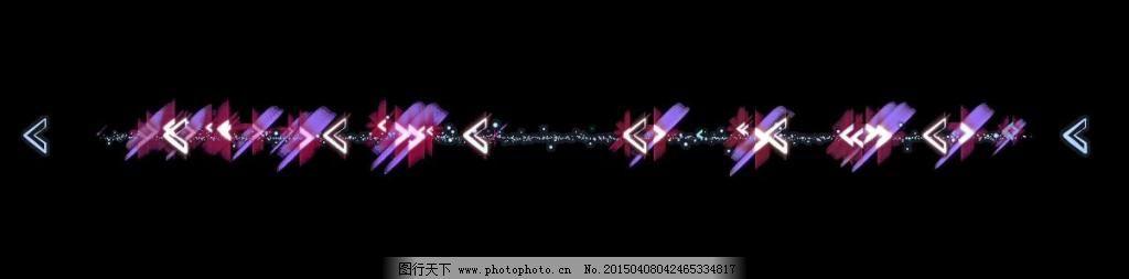 光柱设计元素视频素材