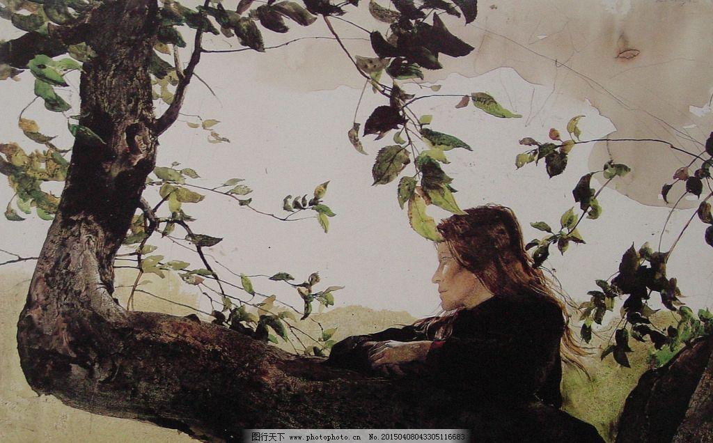 安德魯 懷斯 水彩 美國水彩 水彩風景 風景畫 水彩風景創作 蛋彩畫