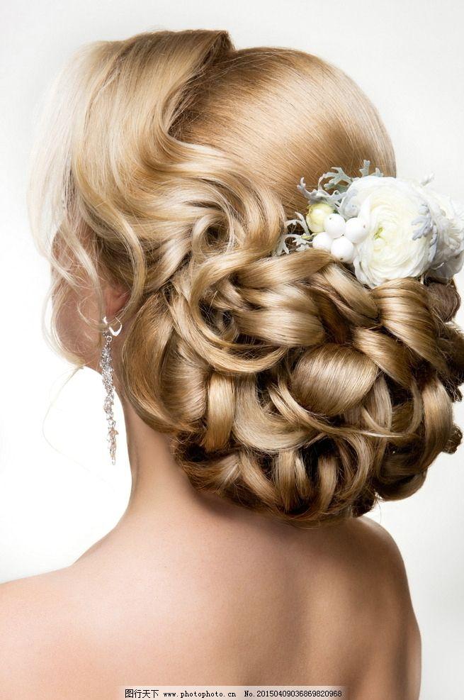 时尚新娘发型 新娘 美女