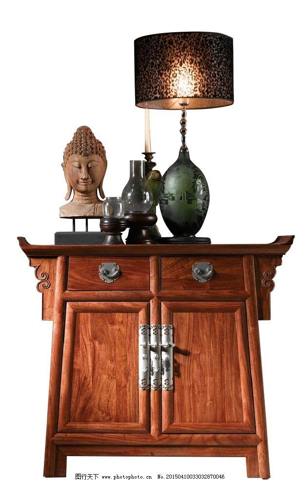 佛头 柜子 台灯 中式 新中式图片图片