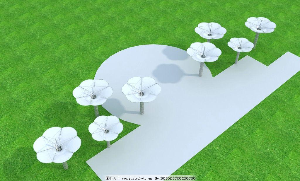 花瓣景观膜结构图片