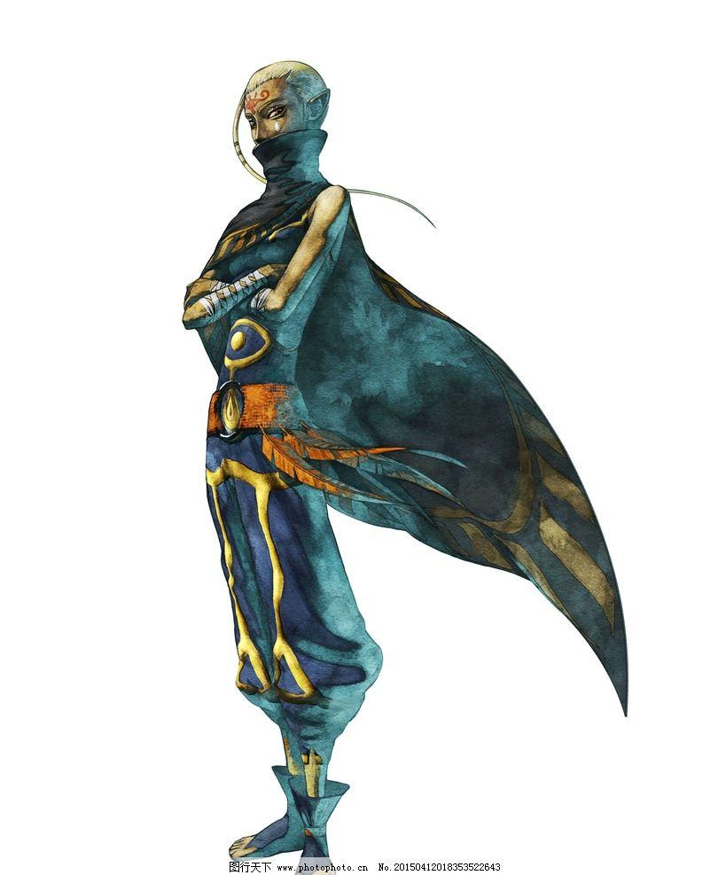 茵帕 塞达尔传说 游戏人物 游戏角色 反派角色 手绘风格 动漫角色