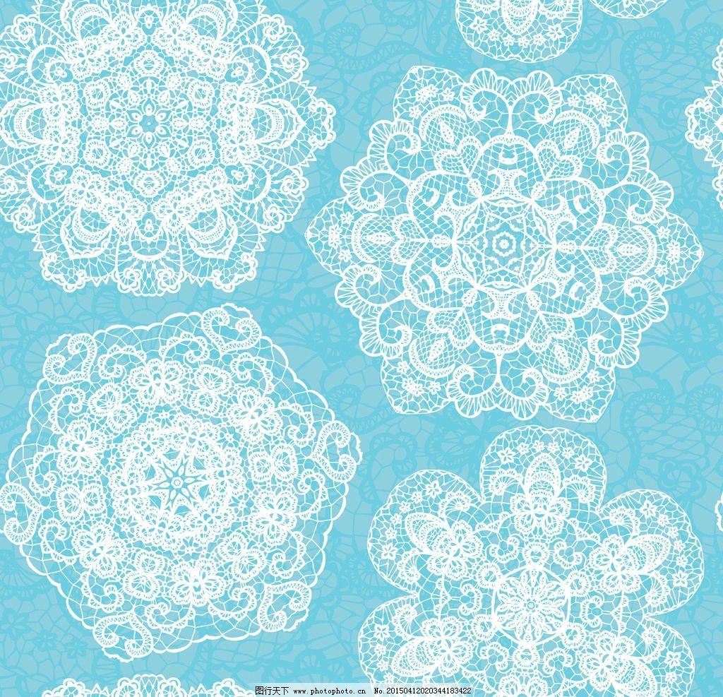 镂空花纹 剪纸花纹 对称花纹 花边桌巾纸 餐巾纸花纹 花纹背景 边框