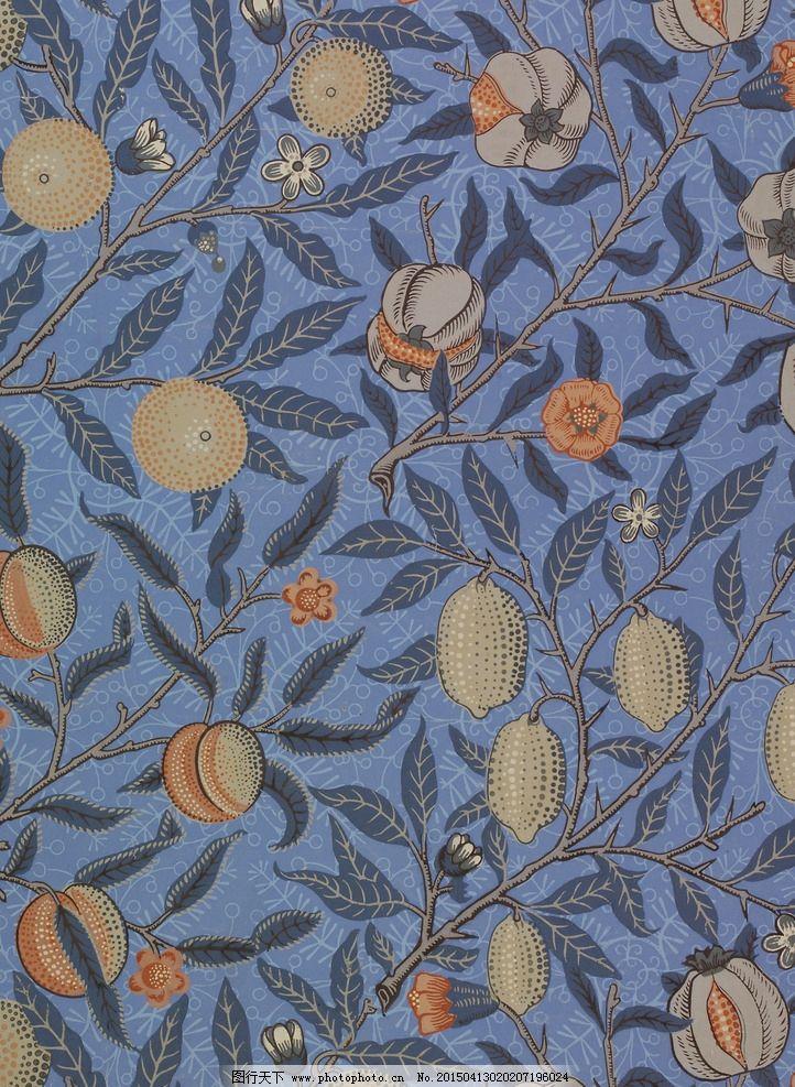 欧式古典纹样背景图片
