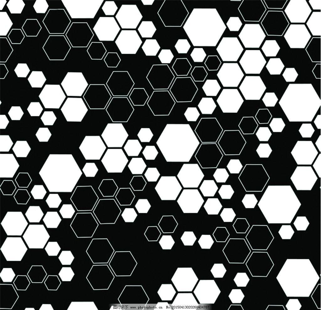 几何六边形图片_背景底纹_底纹边框_图行天下图库