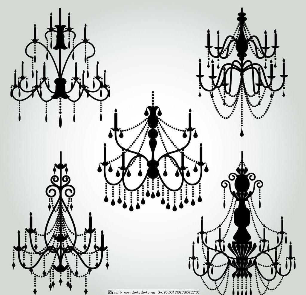 灯具 灯饰 欧式吊灯图片
