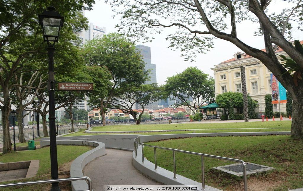 国外街头绿化手绘