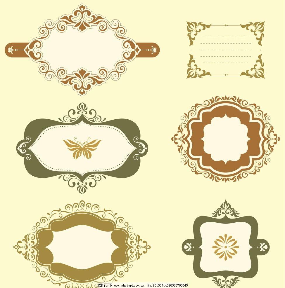 欧式花纹图片图片