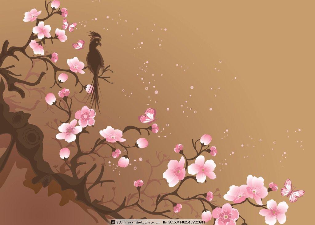 qq头像樱花下的背影
