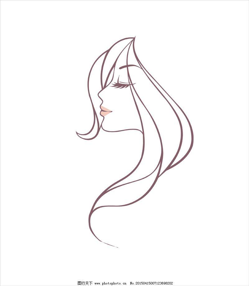 女子头像海报免费下载 卡通 模板 女子      炫彩 女子 模板 卡通图片