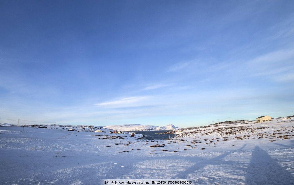 雪国挪威 唯美 风景 风光 旅行 自然 北欧 欧洲 雪景 冬天图片