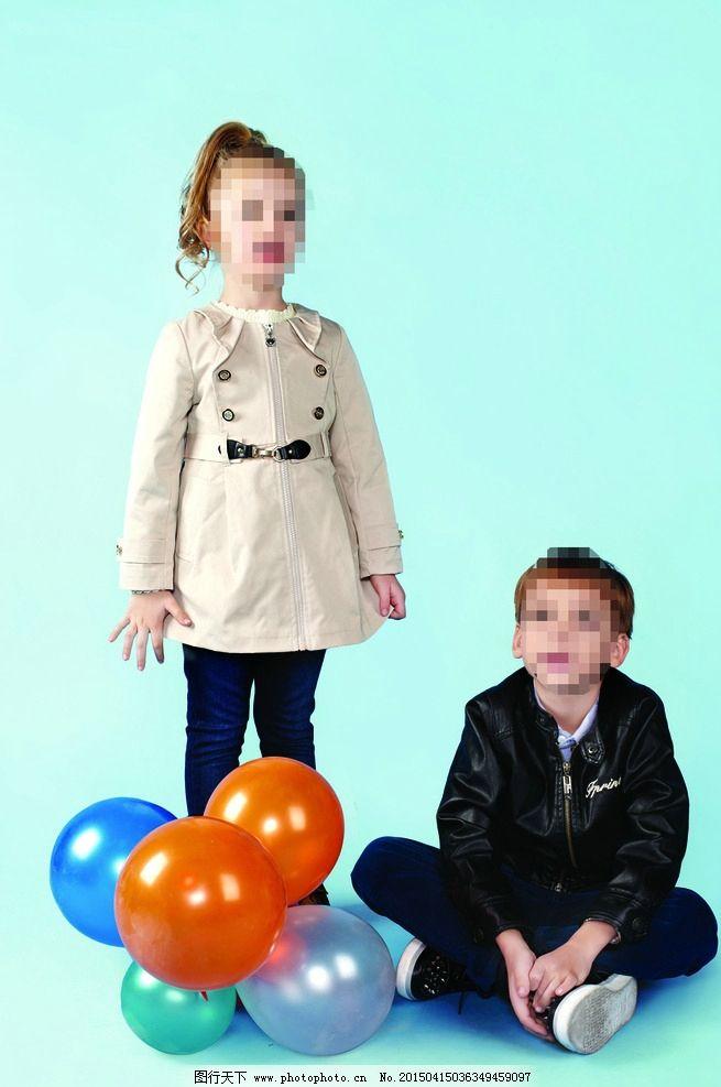 童装模特 小模特 外国童装模特
