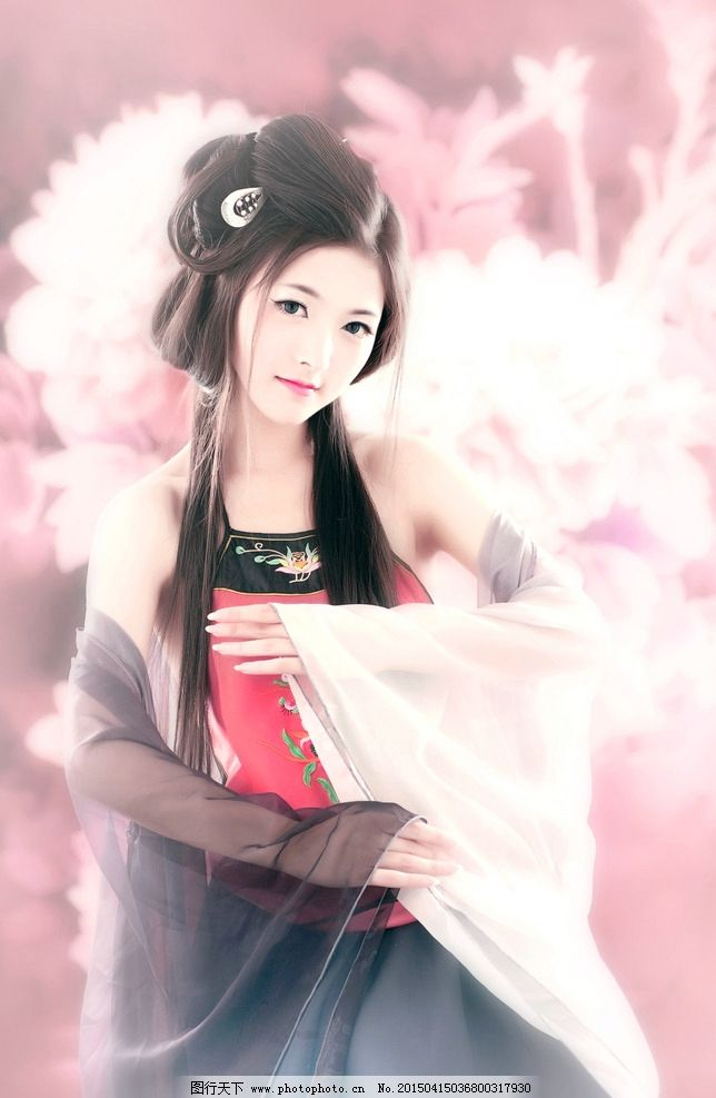 静女 美女 模特 孟祥星 古装 摄影 人物图库 女性女人 240dpi jpg图片