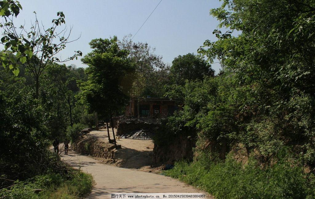南方农村田园风景图片