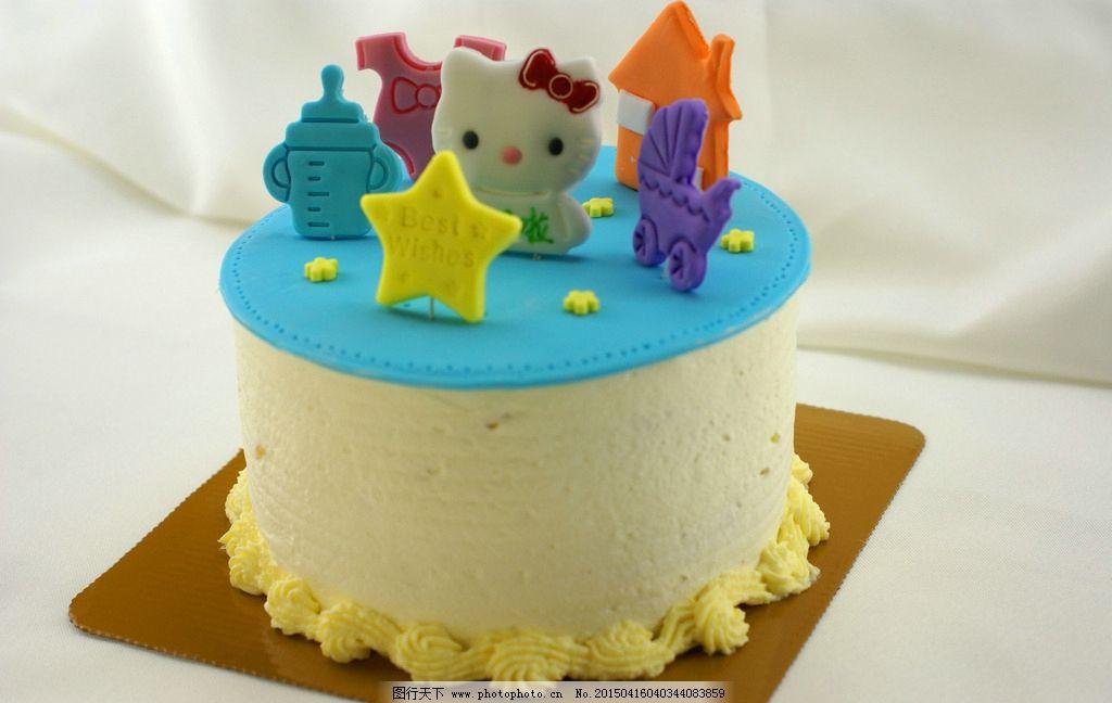 翻糖卡通奶油蛋糕图片