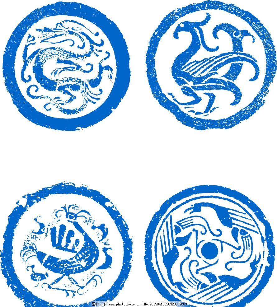 中式纹理图片