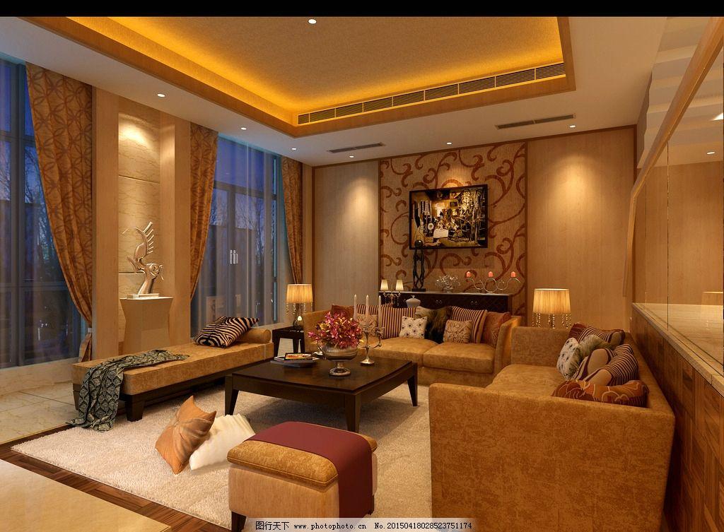 客厅装修 室内装修 室内设计 室内装潢 客厅装饰图 设计 环境设计
