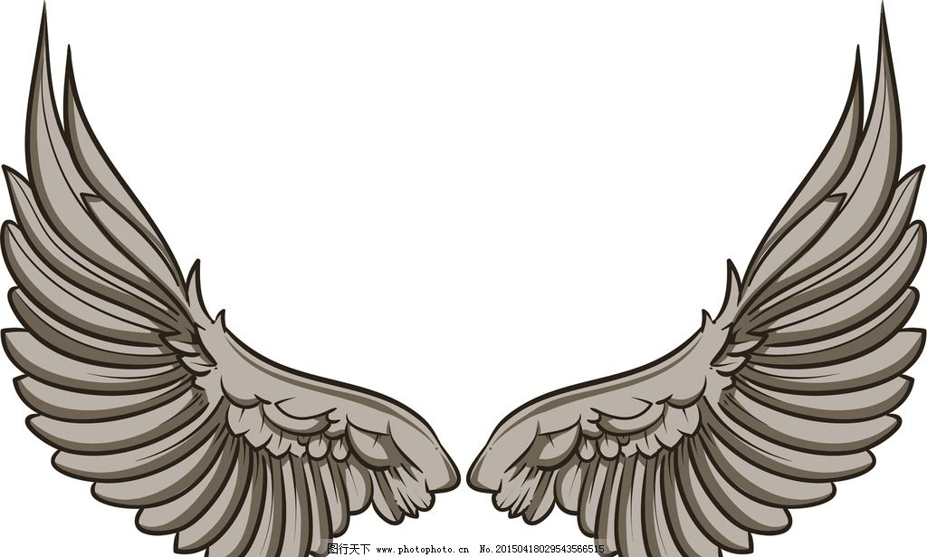 翅膀 羽毛 天使翅膀 翅膀设计