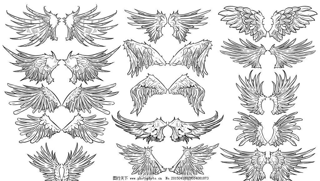 羽毛简笔画 漂亮