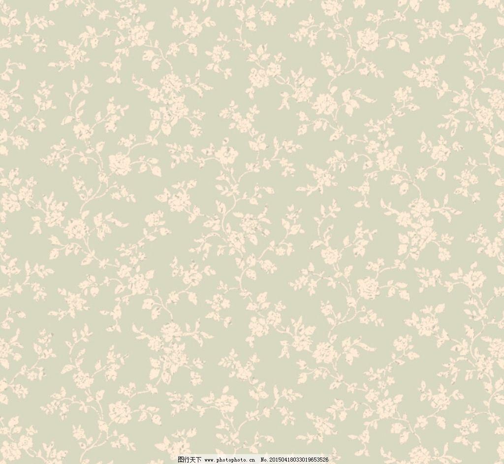 美式 乡村 田园 墙纸 花型 设计 psd分层素材 psd分层素材 127dpi psd图片