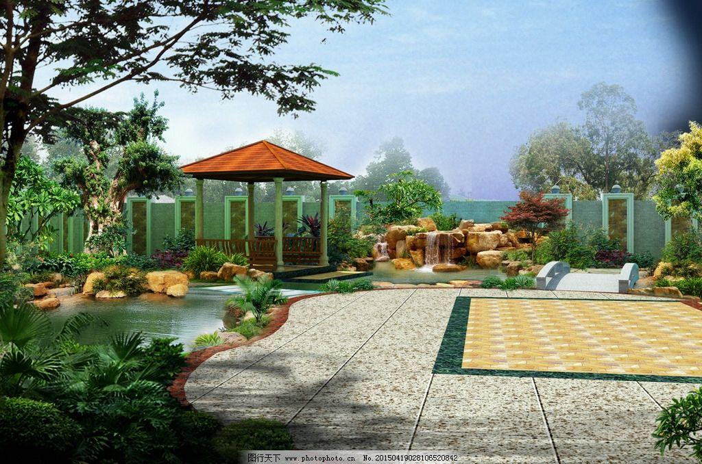 庭院环境景观图片