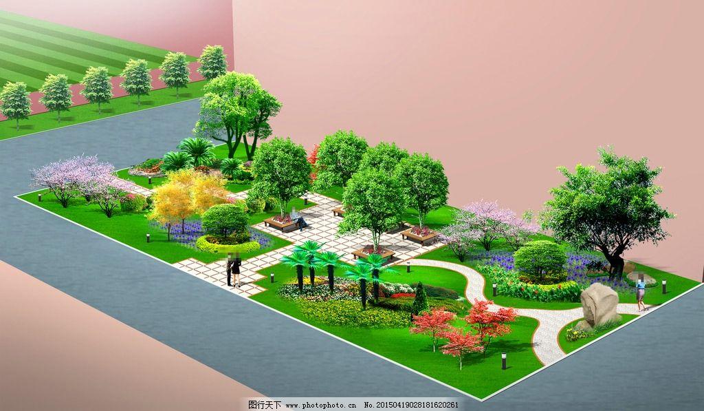 景观设计手绘单体石头