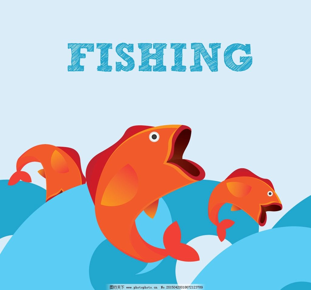矢量鱼 手绘鱼 生物世界 鱼类 矢量 eps 设计 动漫动画 其他 eps