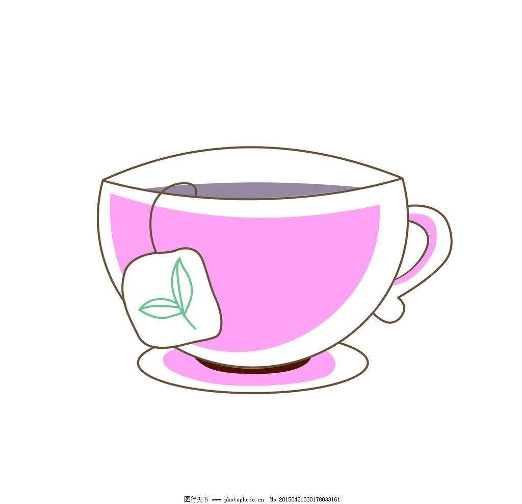 杯子 茶杯 咖啡杯 矢量        矢量图 设计 广告设计 移门图案 cdr