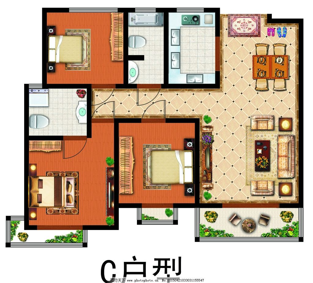 户型图 室内 室内设计 室内平面 室内立面 室内俯瞰 室内透视