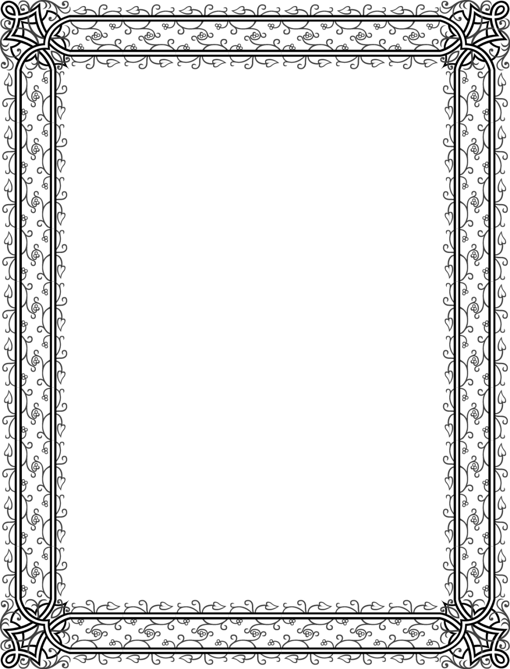 花纹边框素材
