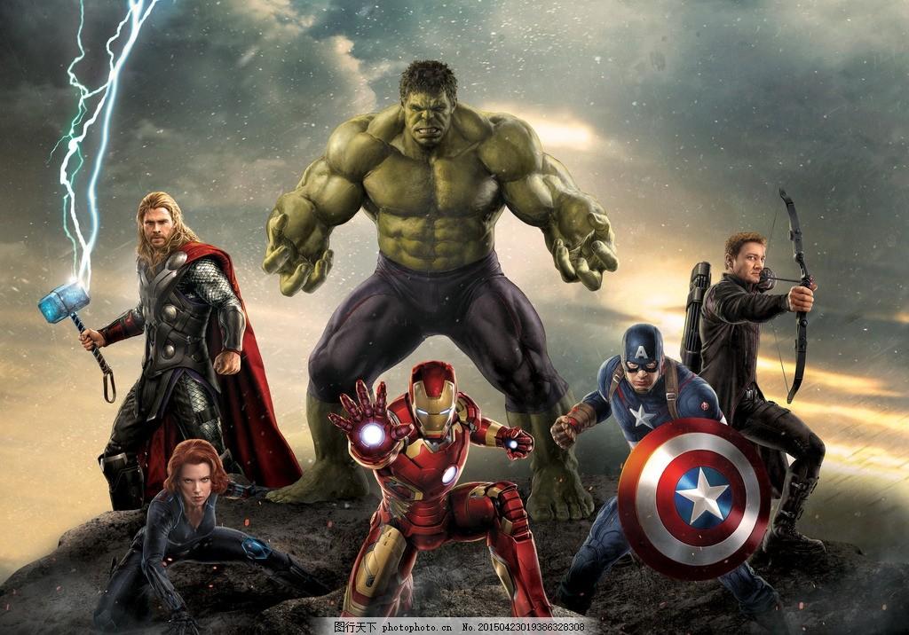 巨人大战钢铁侠_复仇者联盟 绿巨人 鹰眼 钢铁侠 黑寡妇 斯嘉丽约翰逊 小罗伯特唐尼