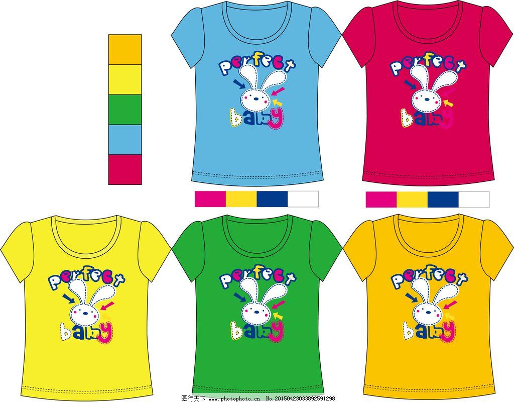 儿童印花t恤图片图片