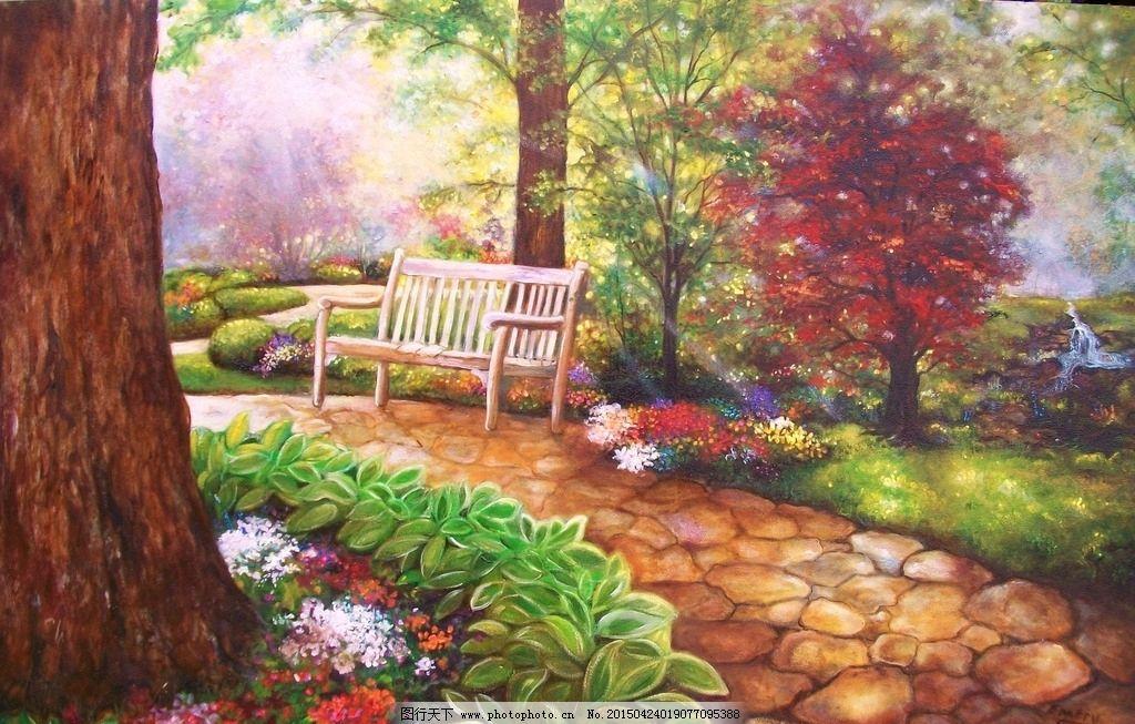 欧式艺术风景画