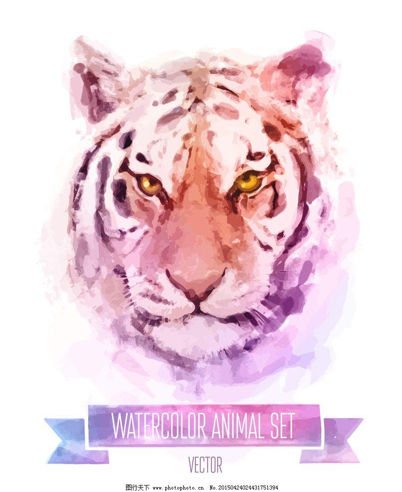 水彩动物图片_野生动物_生物世界_图行天下图库