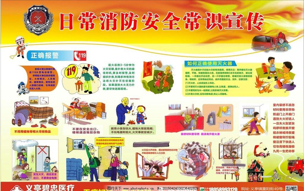 消防宣传海报图片