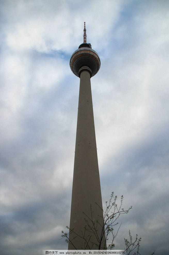 柏林电视塔图片