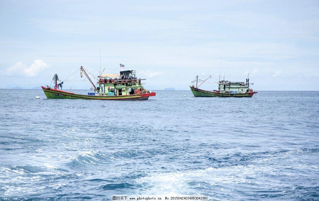 马来西亚 东南亚 海岛 大海 渔船 旅游 摄影 自然景观 自然风景 240