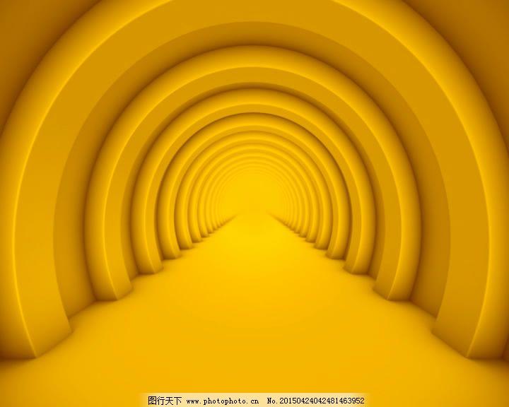 图片合成视频_橙色隧道视频素材图片_合成背景_实拍视频_图行天下图库