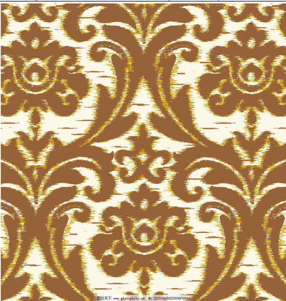 古典花纹 欧式 印花 壁纸 地毯 服装花型 装饰画 背景底纹 家纺图案